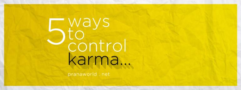 Control Karma