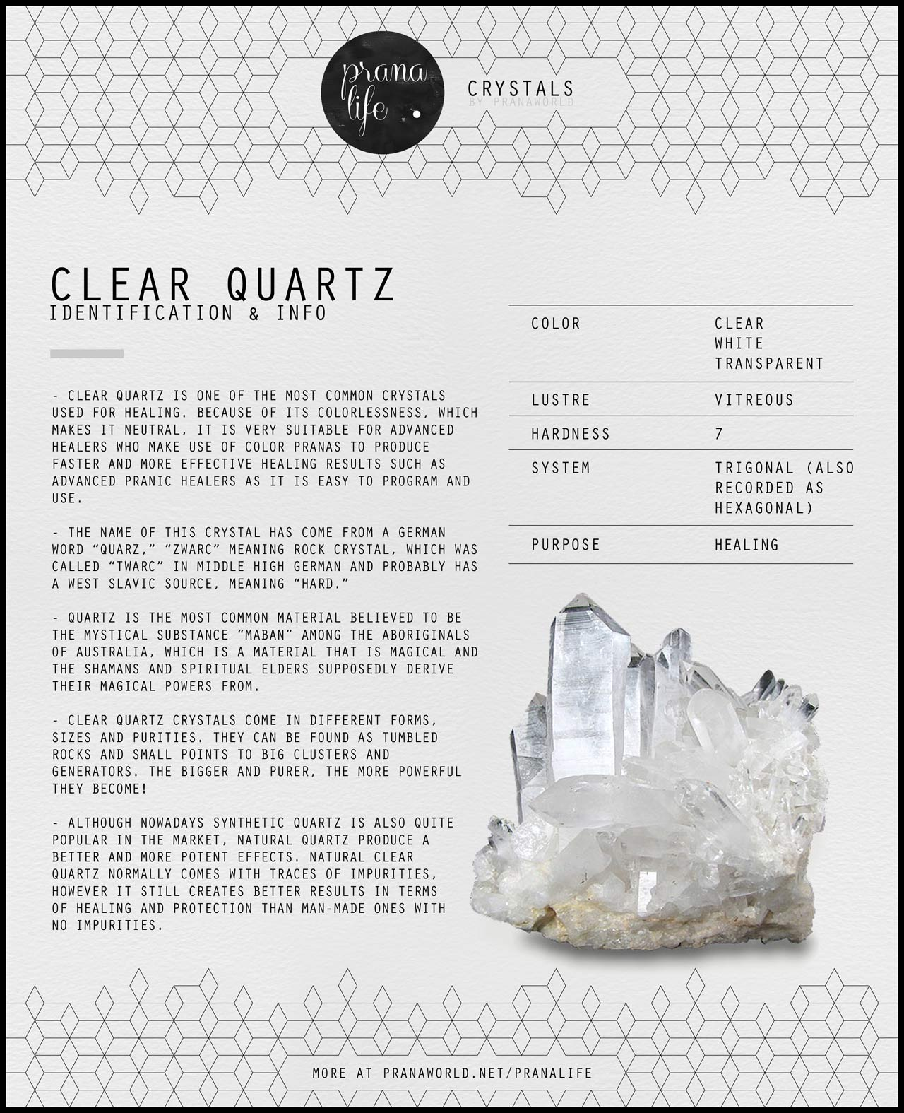 Clear Quartz ID