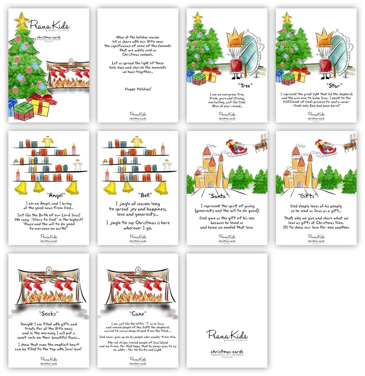 PranaKids Christmas Full Booklet
