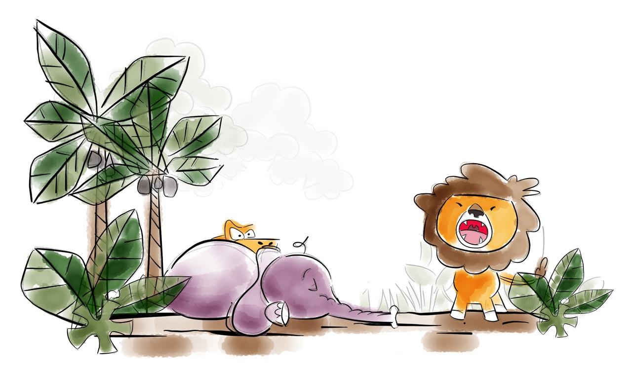 Prana Kids Elephant Fall