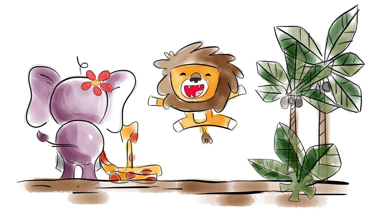 Prana Kids Happy Lion