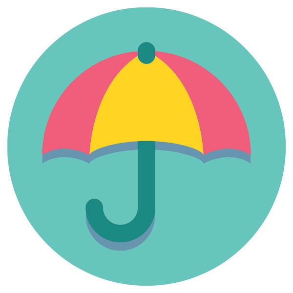 Happy Life Umbrella