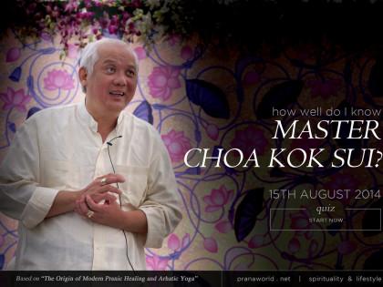 How Well I Know Master Choa Kok Sui!