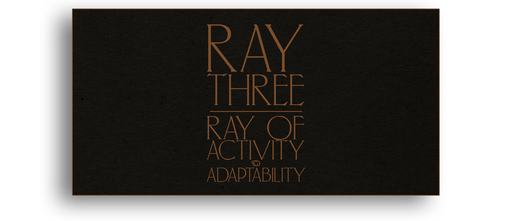 Ray Three Ray of Activity & Adaptability