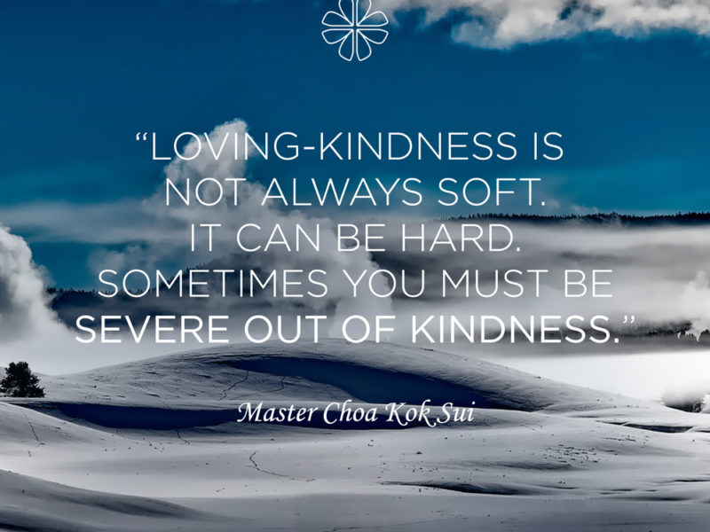 Severe out of Kindness