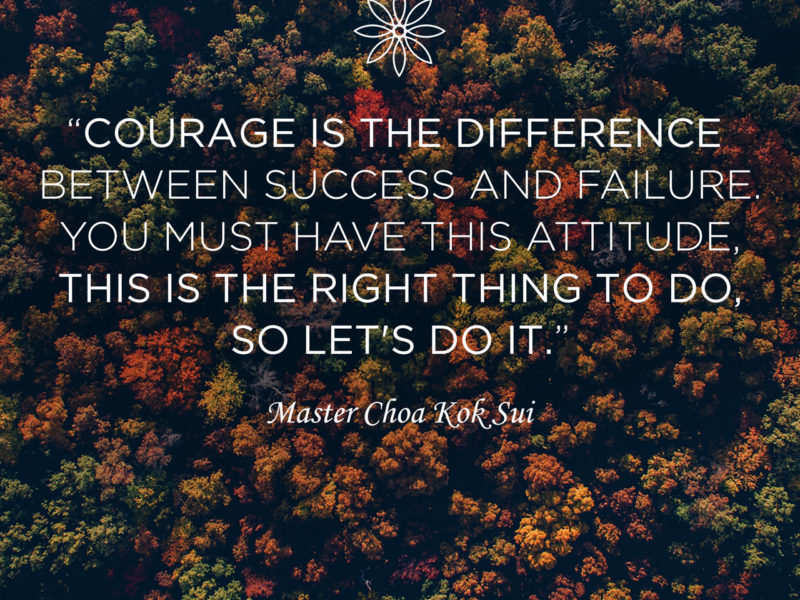 Courage is the Difference